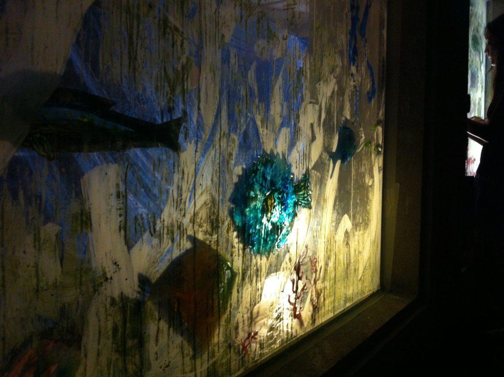 leuchtender Kugelfisch
