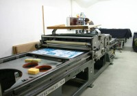Offset Plattendruckmaschine