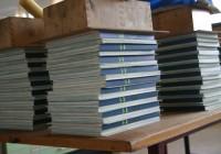 Buchblöcke mit Umschlag